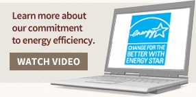 Learn more about our commitment to energy efficiency.